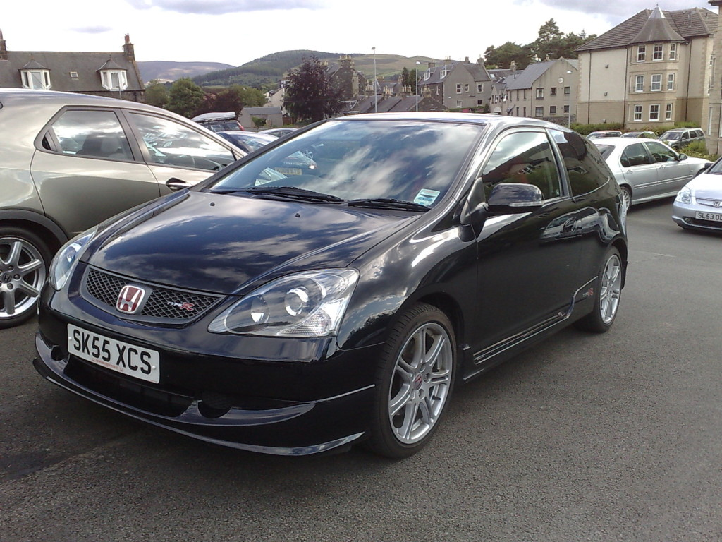 Honda Civic Type-R 2005 Black