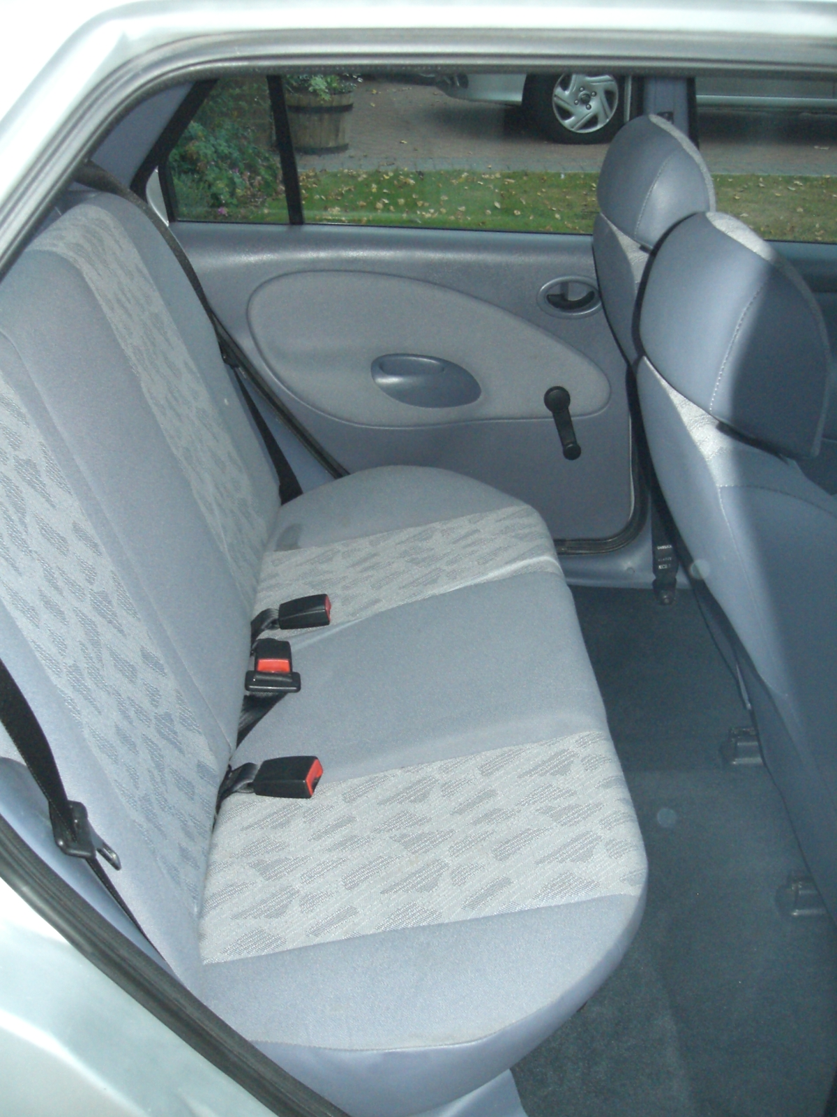 Rear seats of Ford Fiesta 1.3 1997