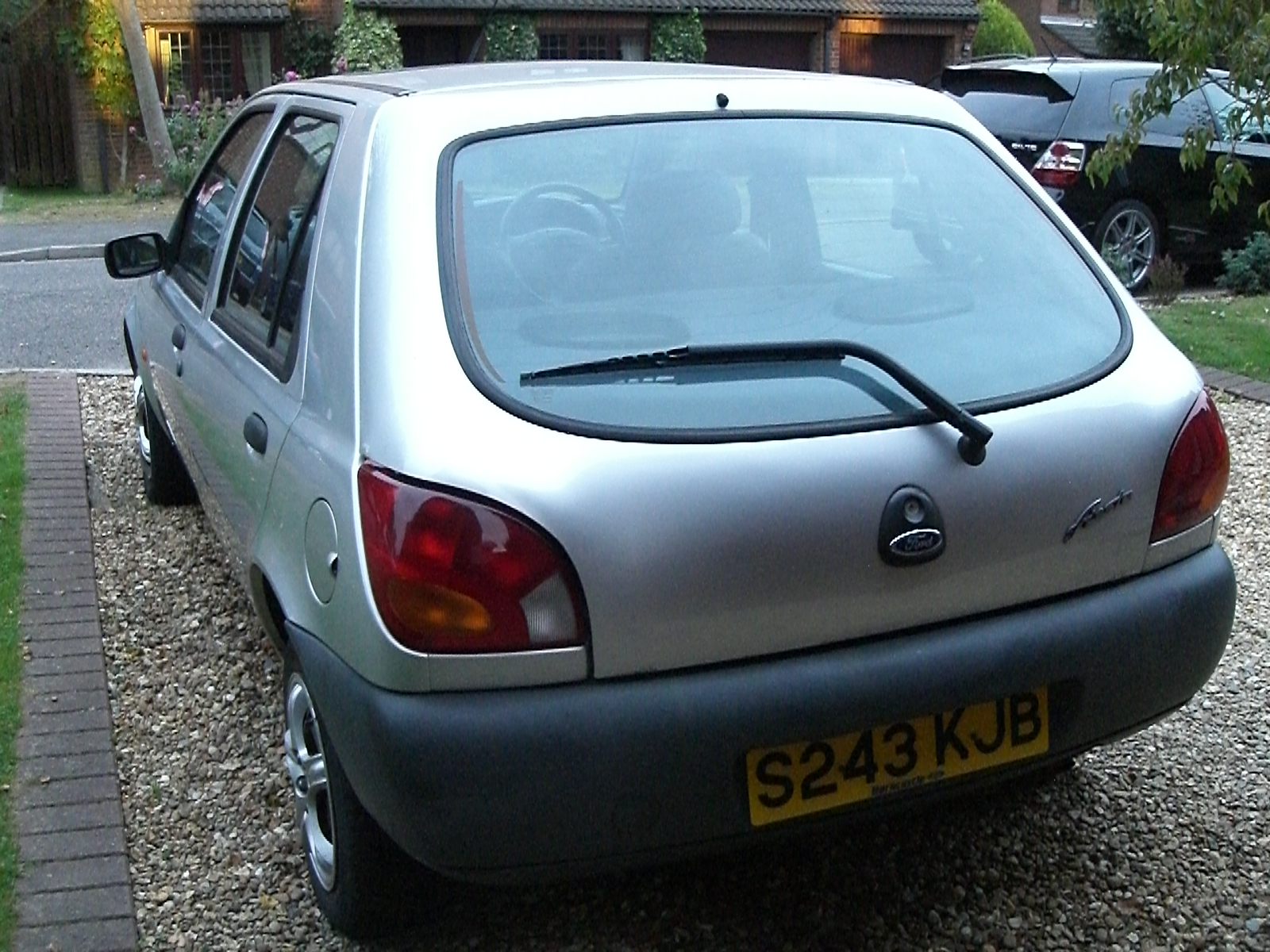 Rear end of Ford Fiesta 1.3 1997