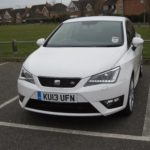 My current car: Seat Ibiza SC FR (2013)