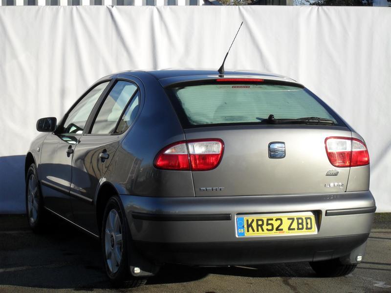 Seat Leon 1.6 Sport 2002 Rear