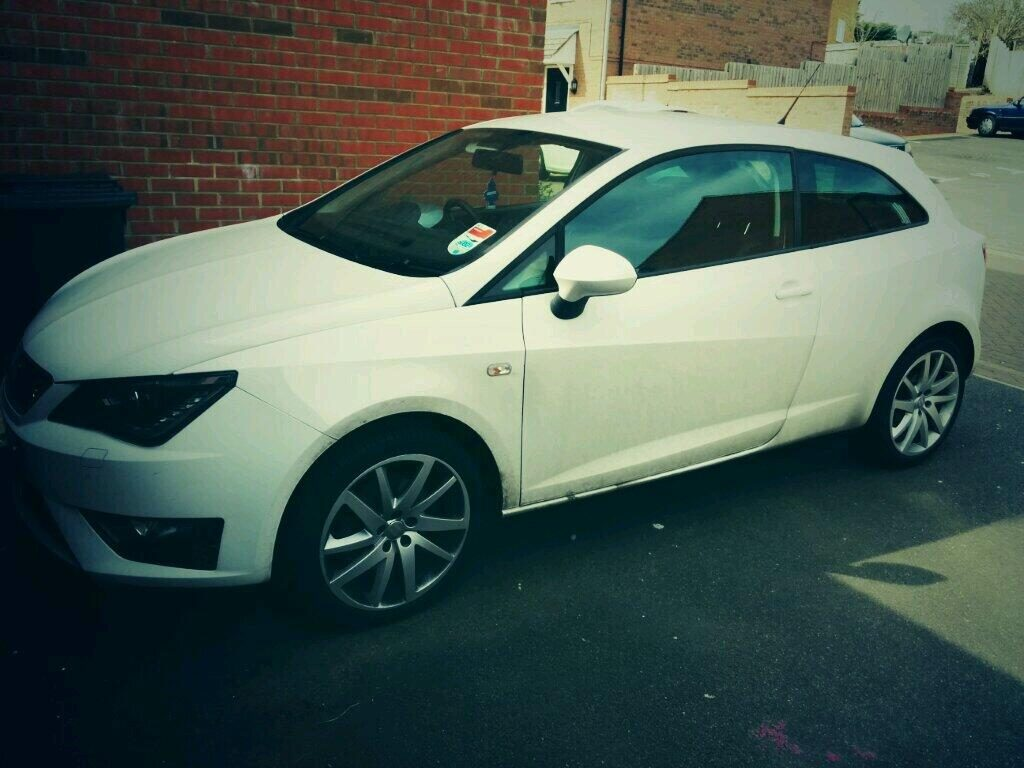 Seat Ibiza FR before wash