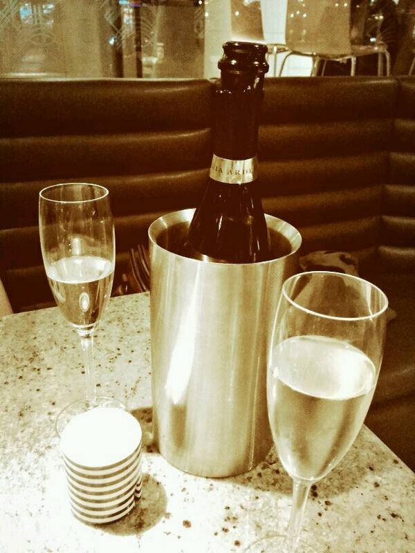 Prosecco at Pizza Express