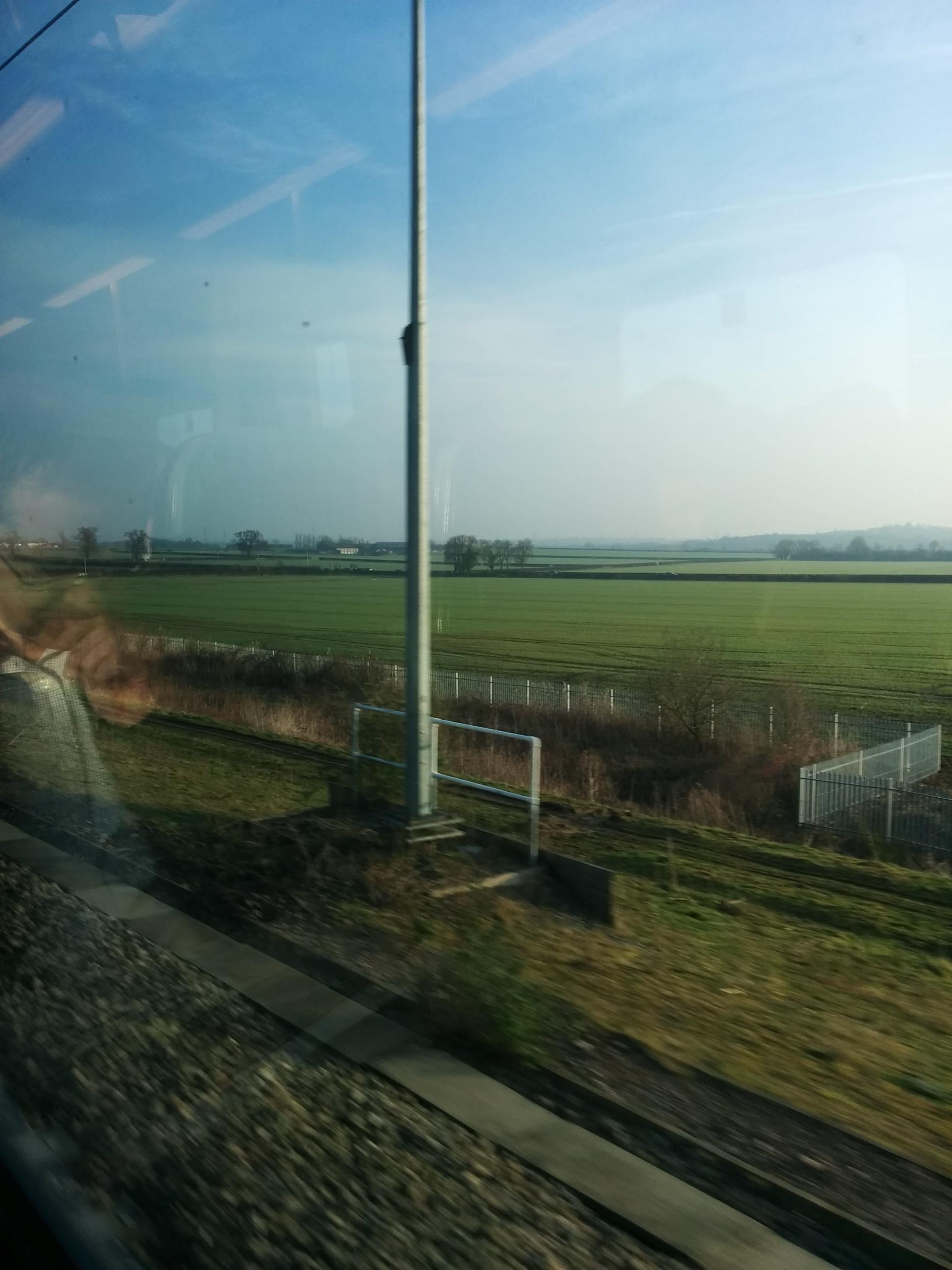 London Midland commuter view