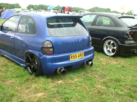Bean Can Exhaust Corsa