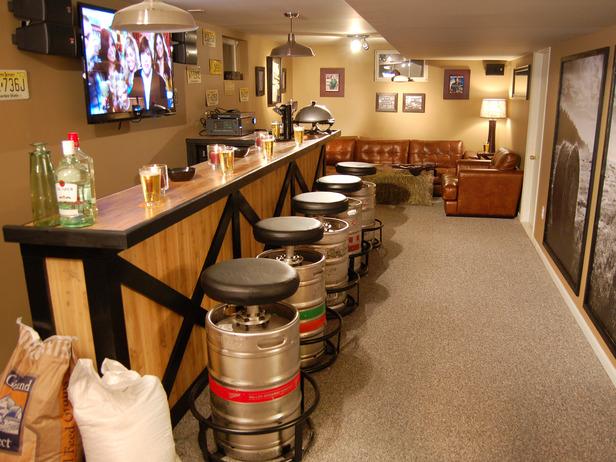 Bar man cave