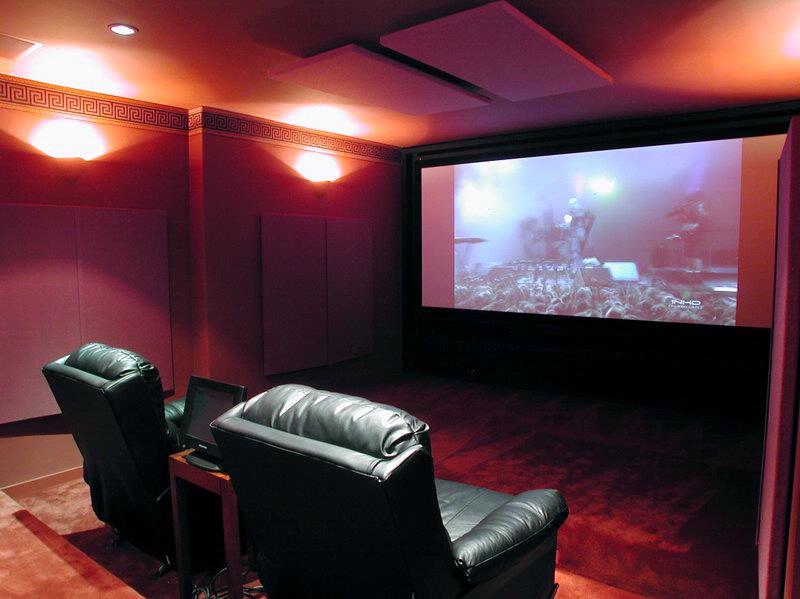 Home cinema man cave
