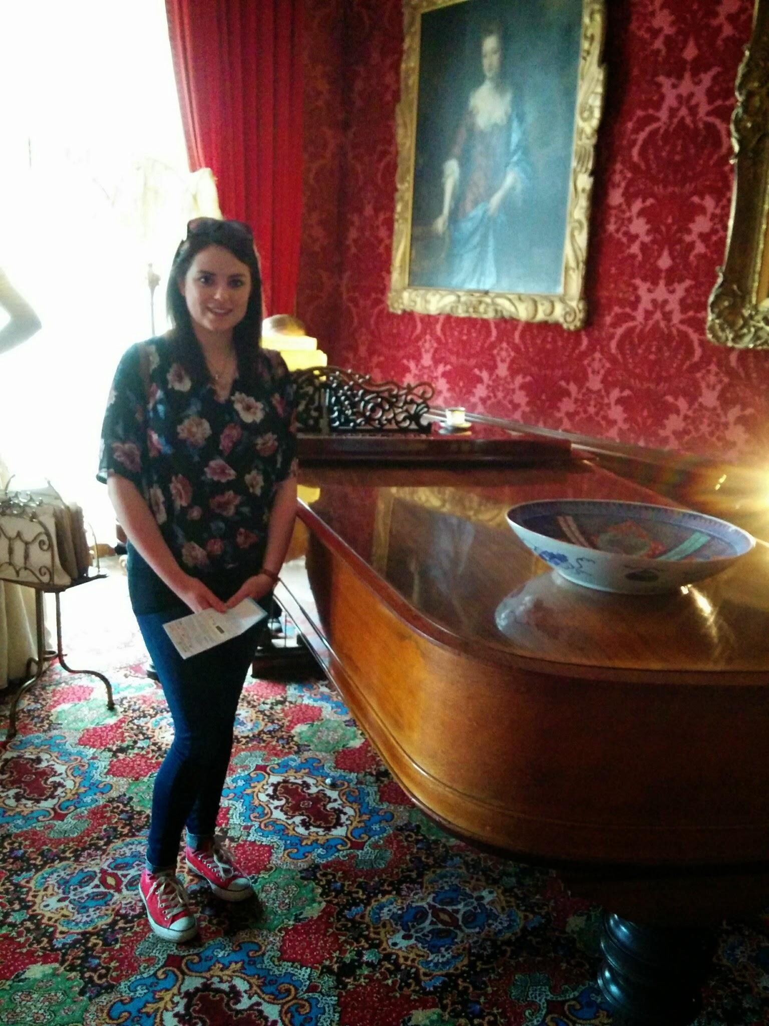 Grand Piano at Warwick Castle