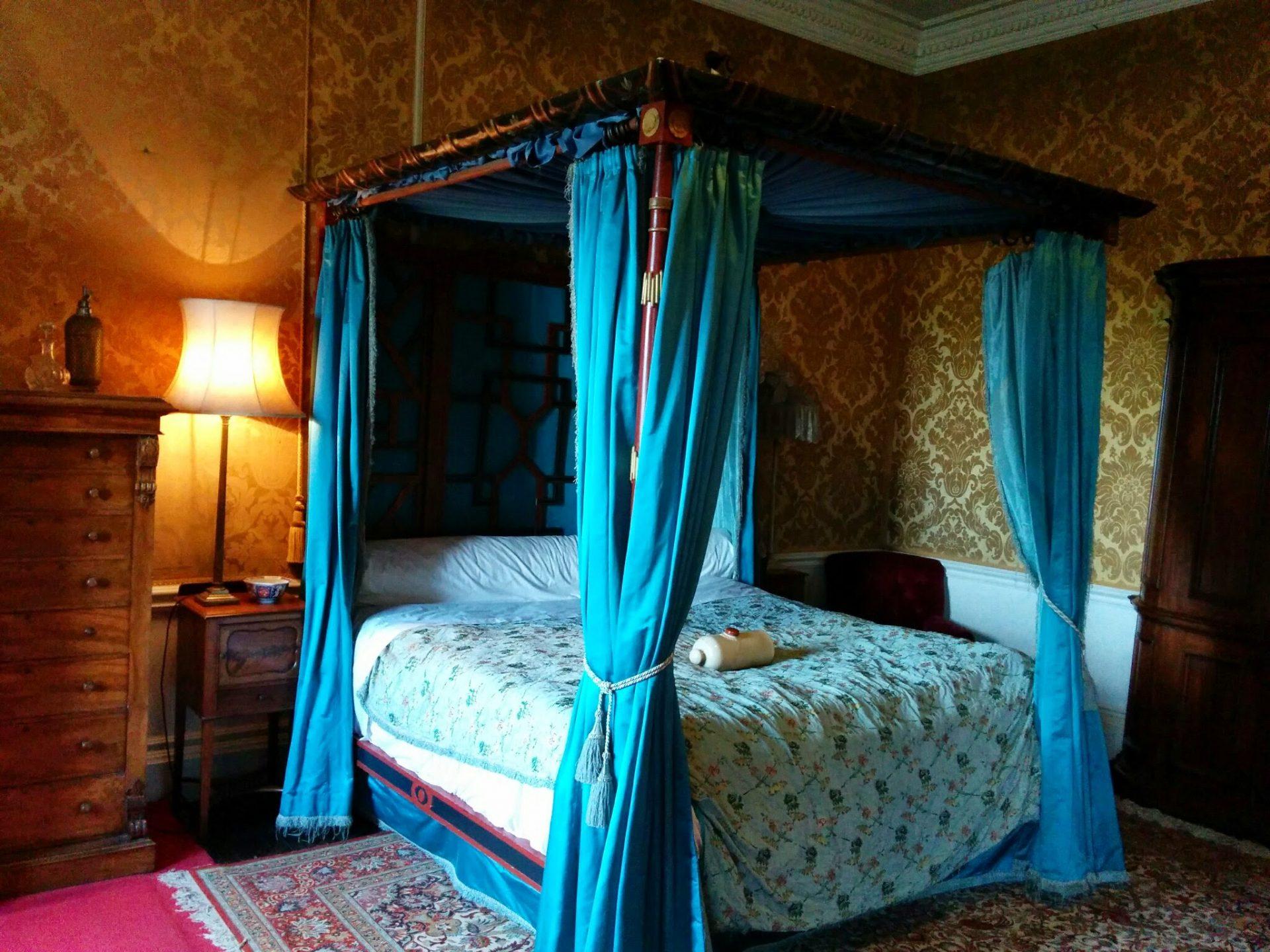 Bedroom at Warwick Castle