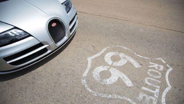 Bugatti Veyron Grand Sport Vitesse Route 66