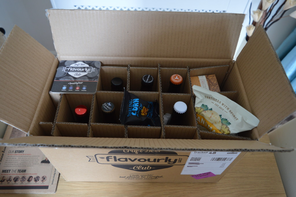 Flavourly.com box contents