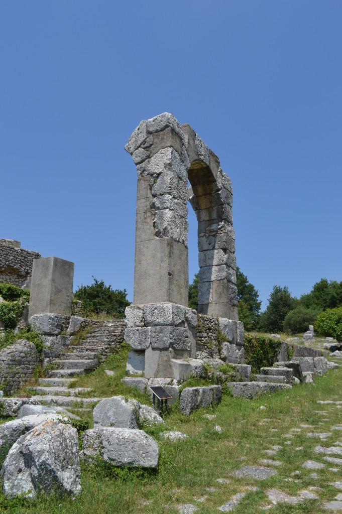 Carsulae Roman Ruins, Umbria