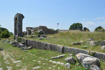 Carsulae Roman Ruins in Umbria, Italy