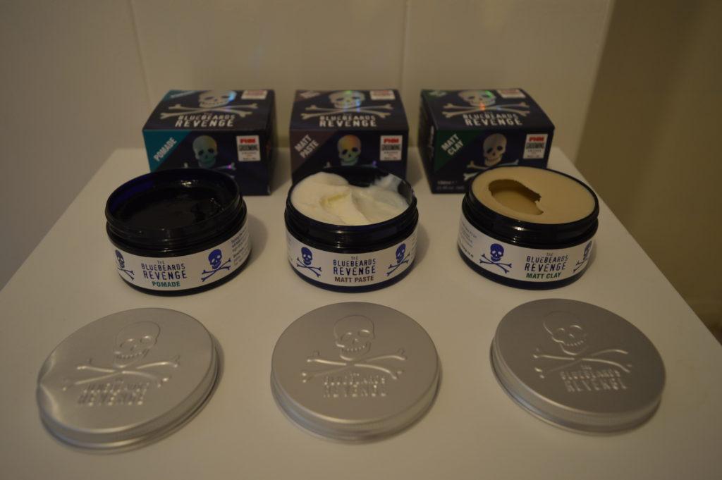 The Bluebeards Revenge Hair Product Range