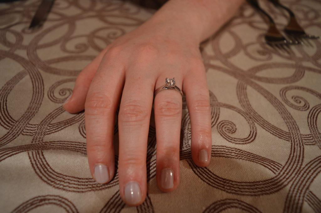 Diamonds Factory Engagement Ring