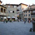 Visiting Cortona in Tuscany, Italy