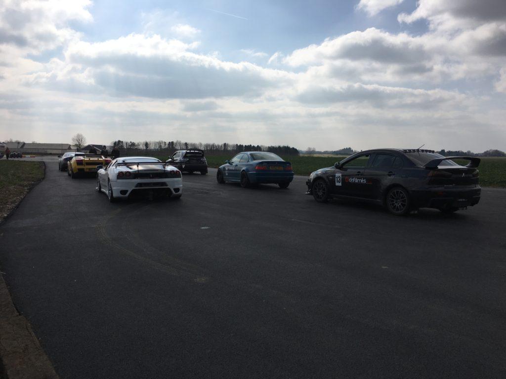 Drift Limits supercars