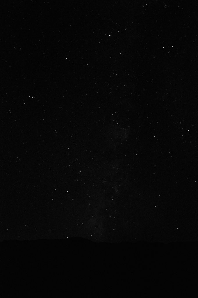 Stars at Death Valley