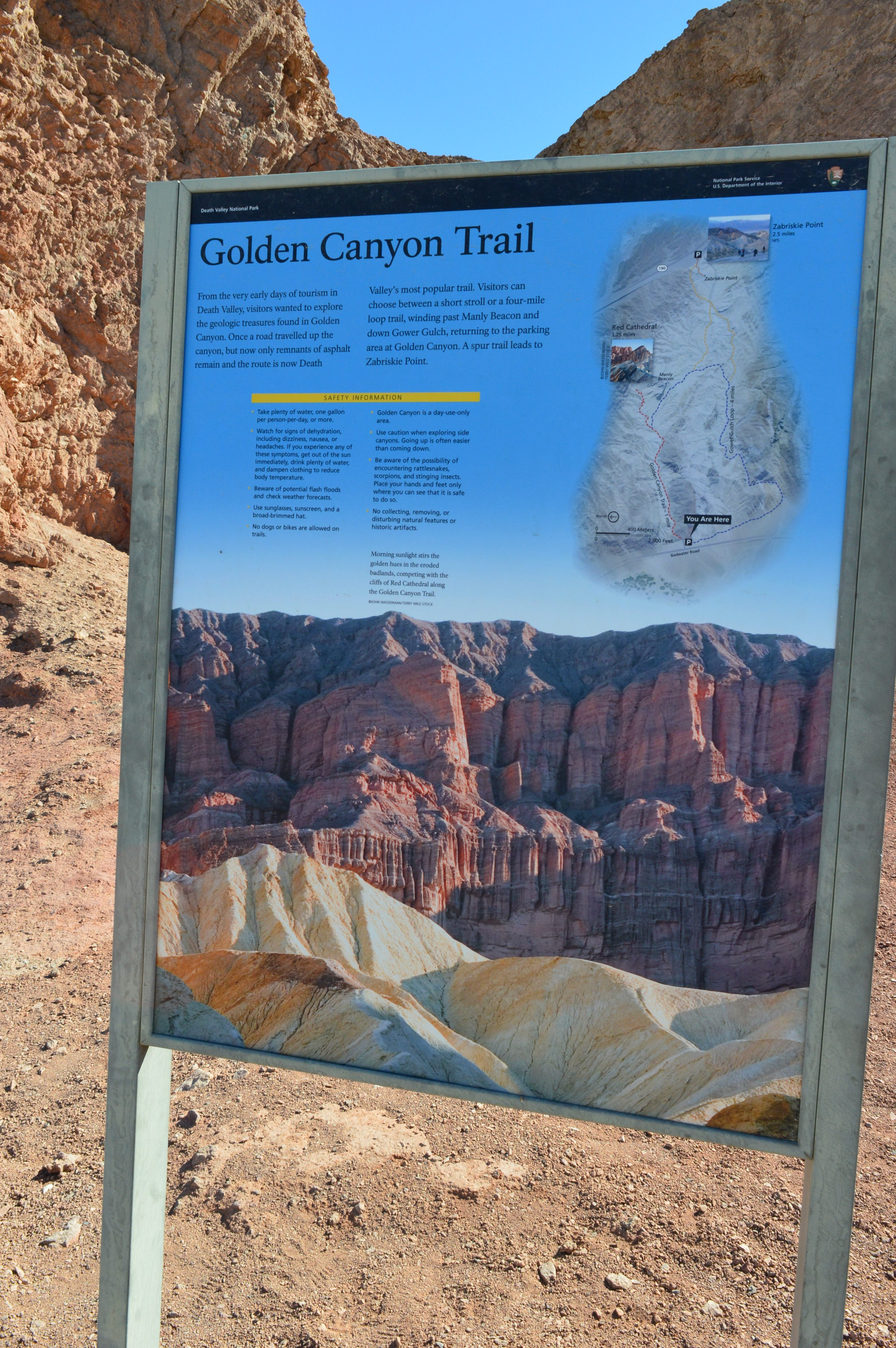 Golden Canyon Trail
