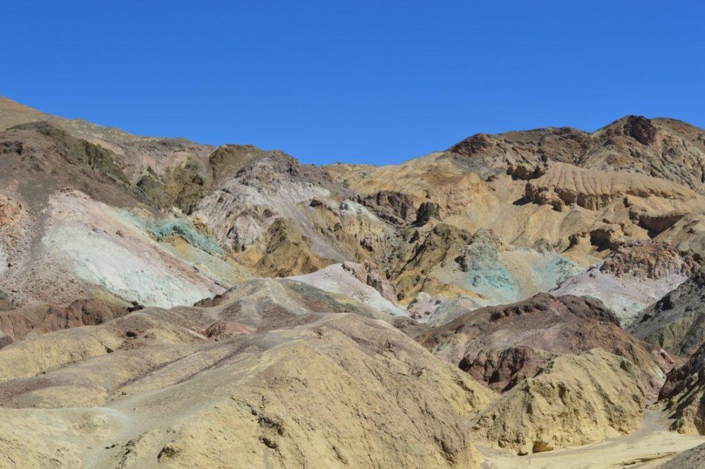 Artist's Palette. Artist's Drive, Death Valley