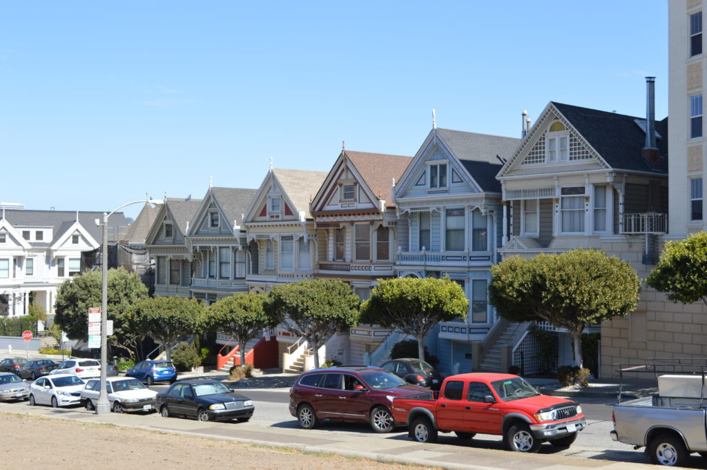 Painted Ladies, Alamo Park, San Francisco