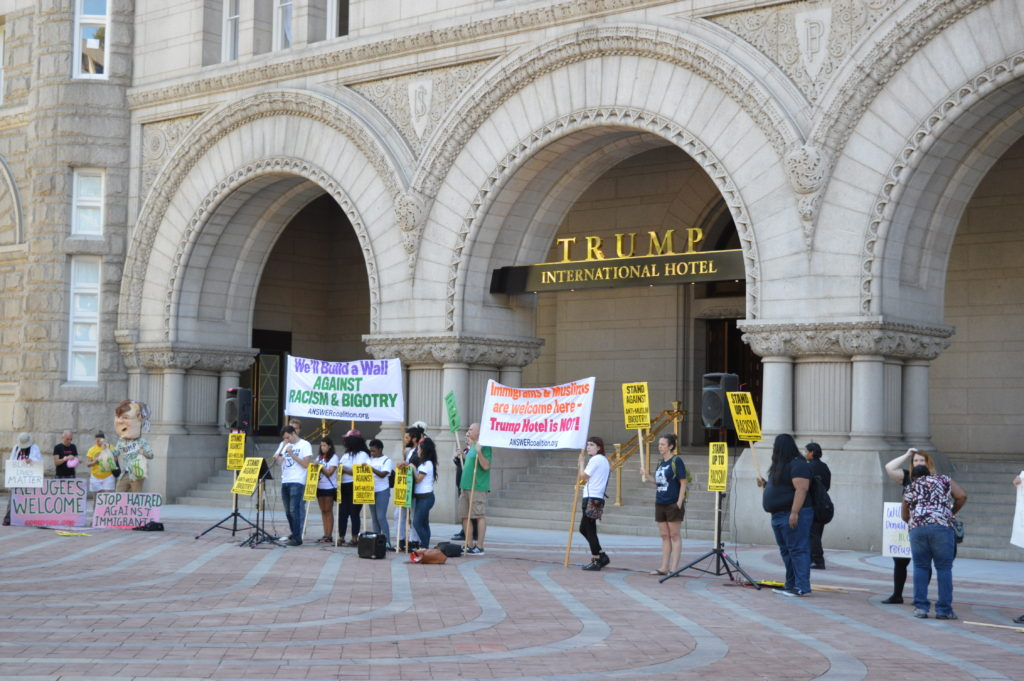 Trump International Hotel Protest