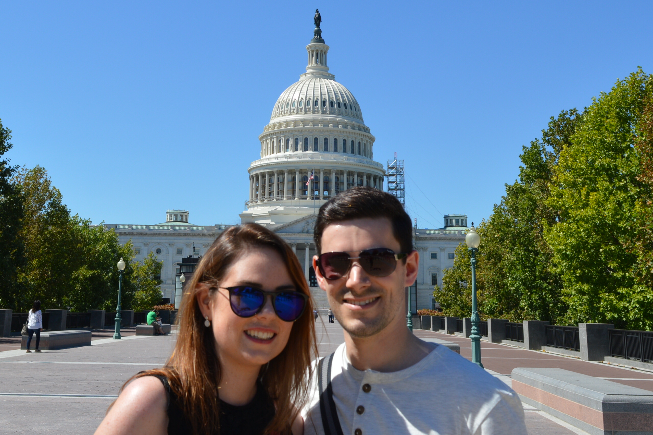 Visiting the US Capitol