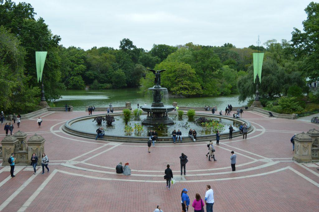 Fountain Central Park