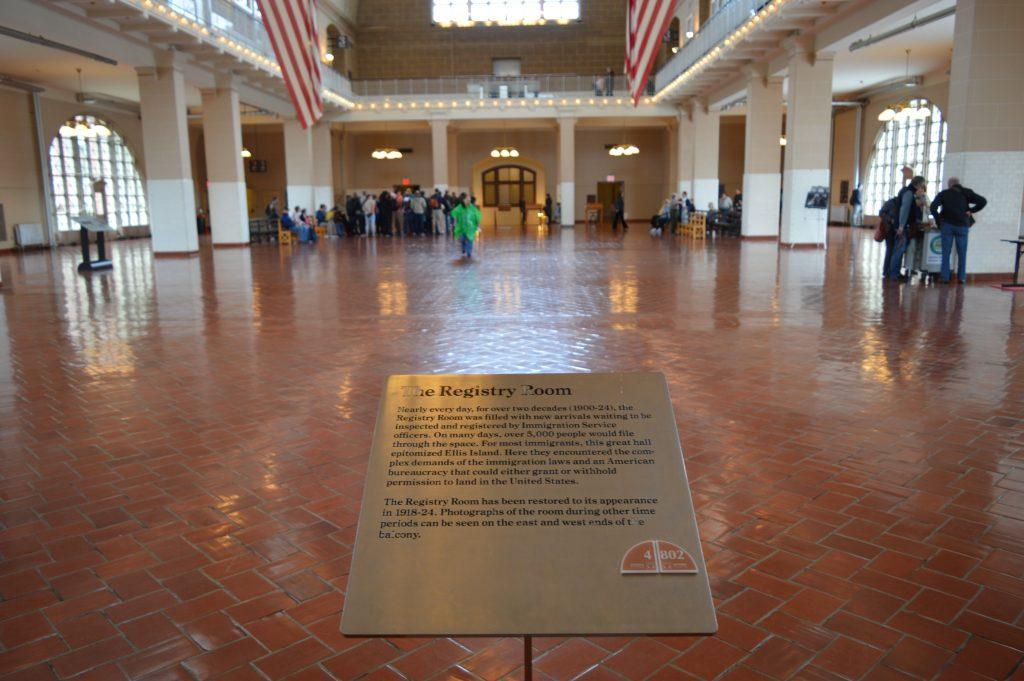 Registration Room Ellis Island
