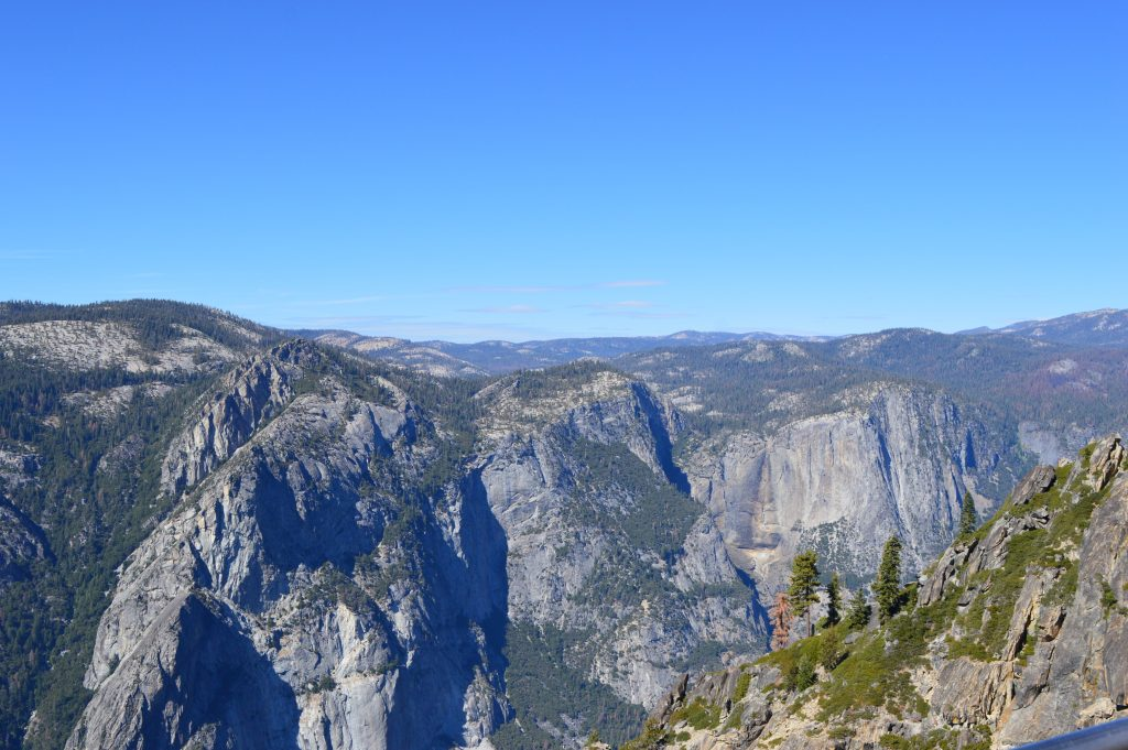 Taft Point view Yosemite