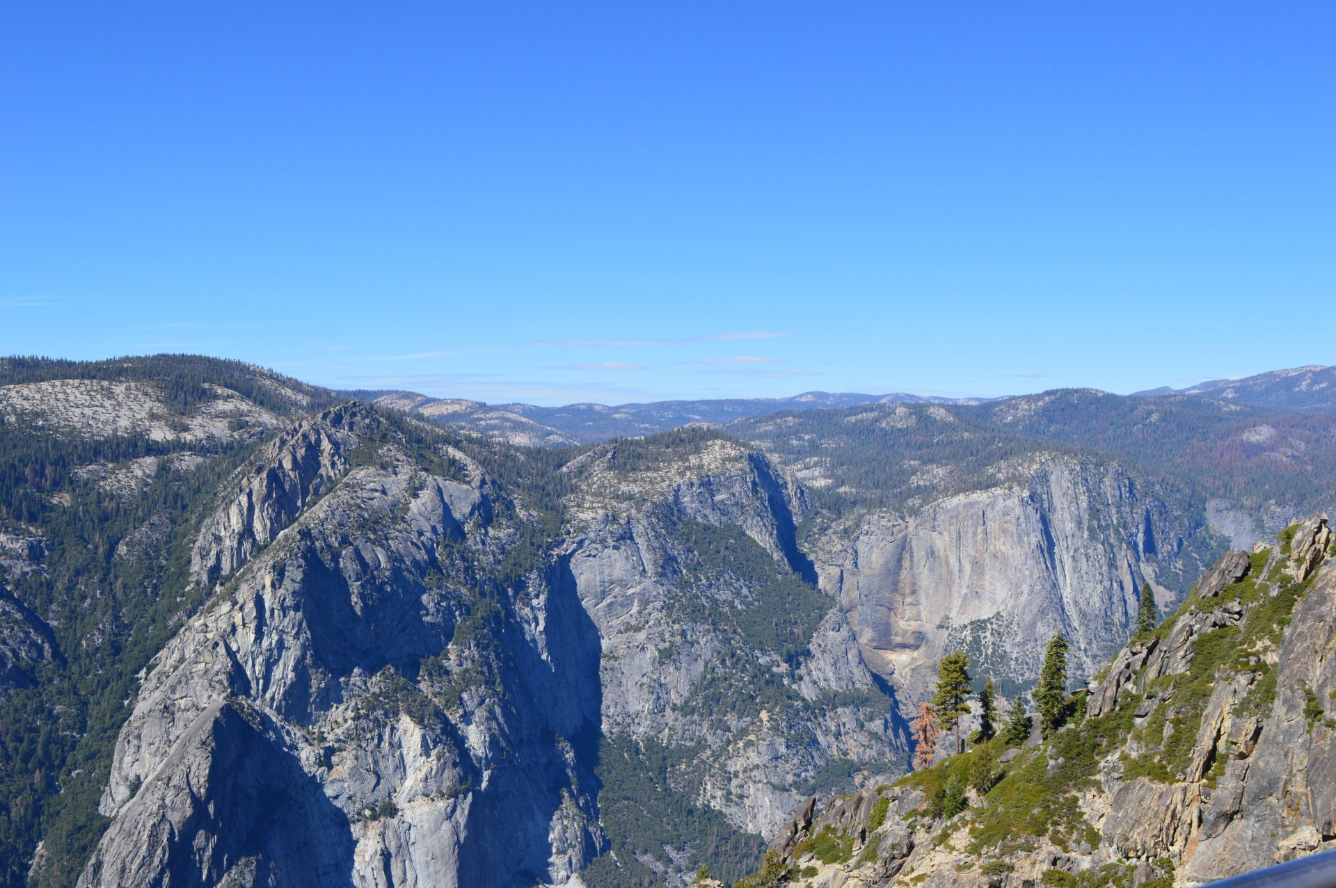 The view from Taft Point