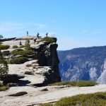 Walking the Taft Point Trail in Yosemite National Park