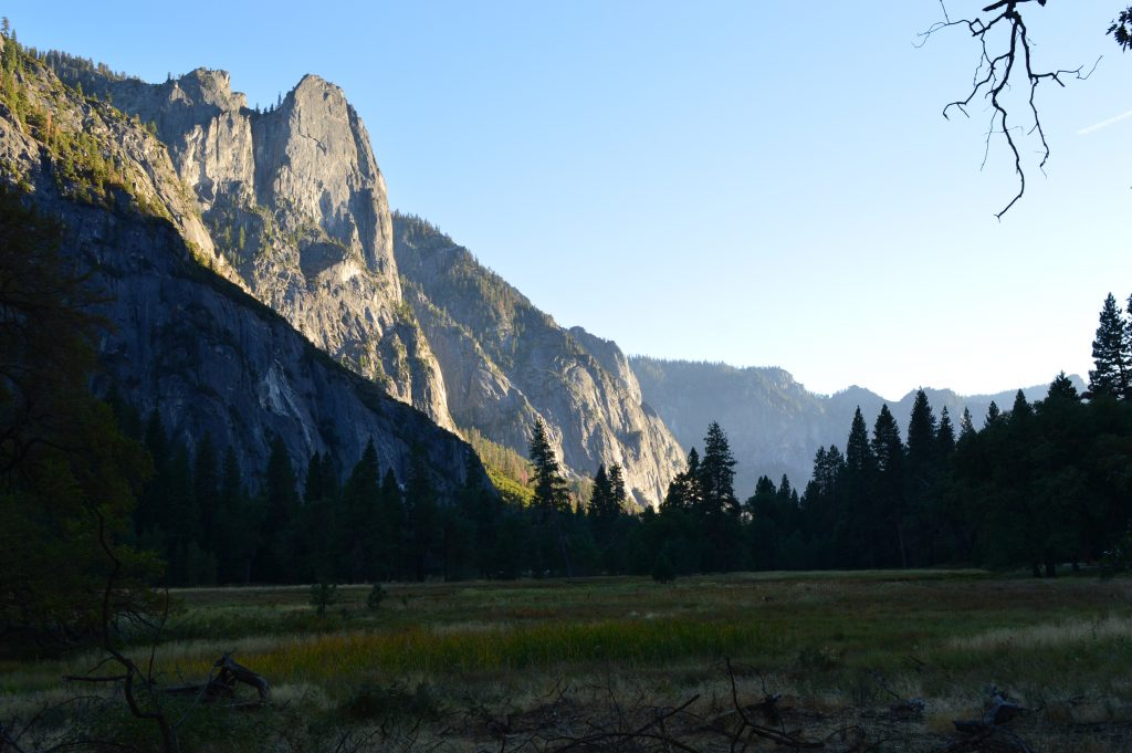 Dusk at Yosemite Valley