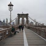 Visiting the Brooklyn Bridge