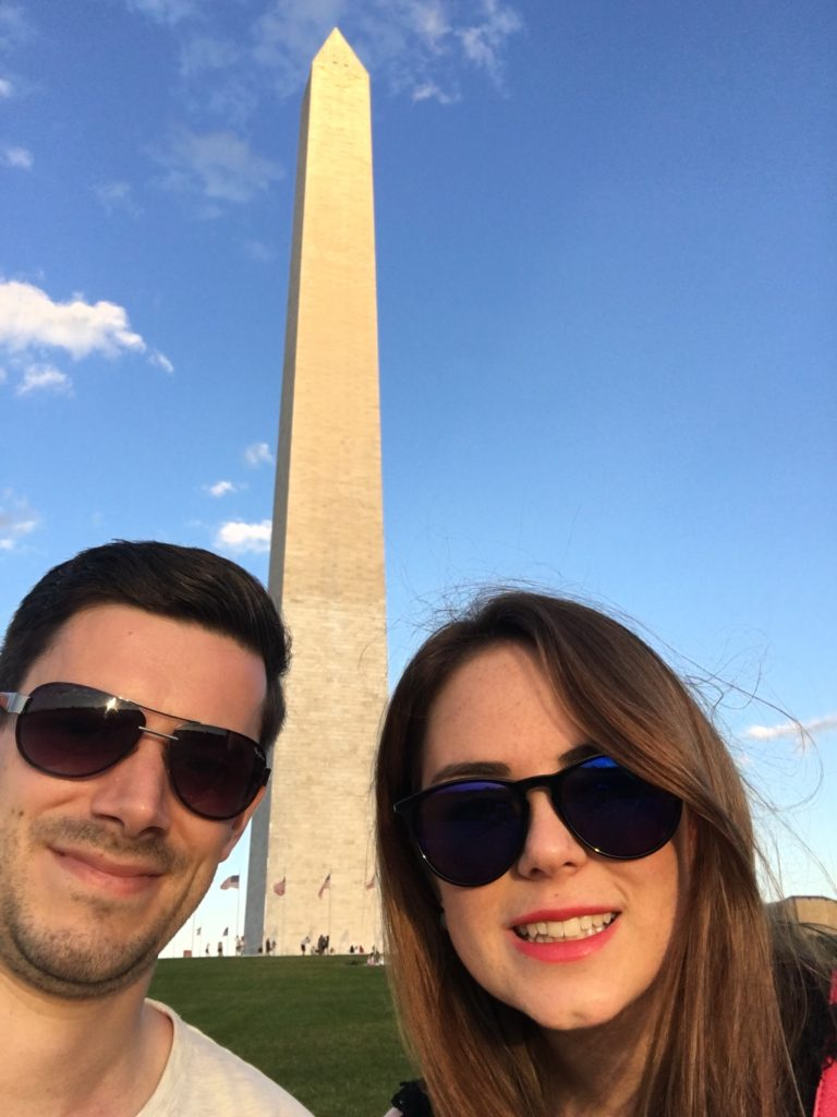 At the Washington Monument