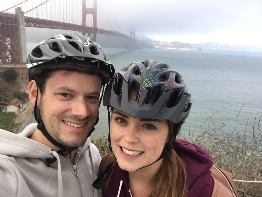 Cycling the Golden Gate Bridge