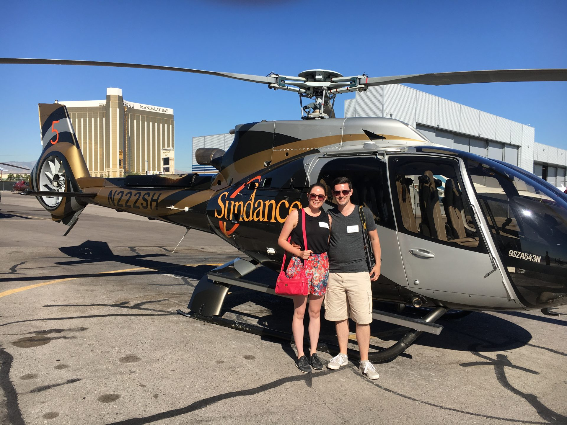 Sundance Helicopter tour of the Grand Canyon