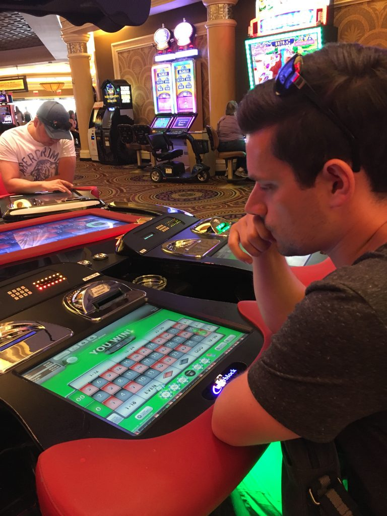 Roulette at Caesers Palace