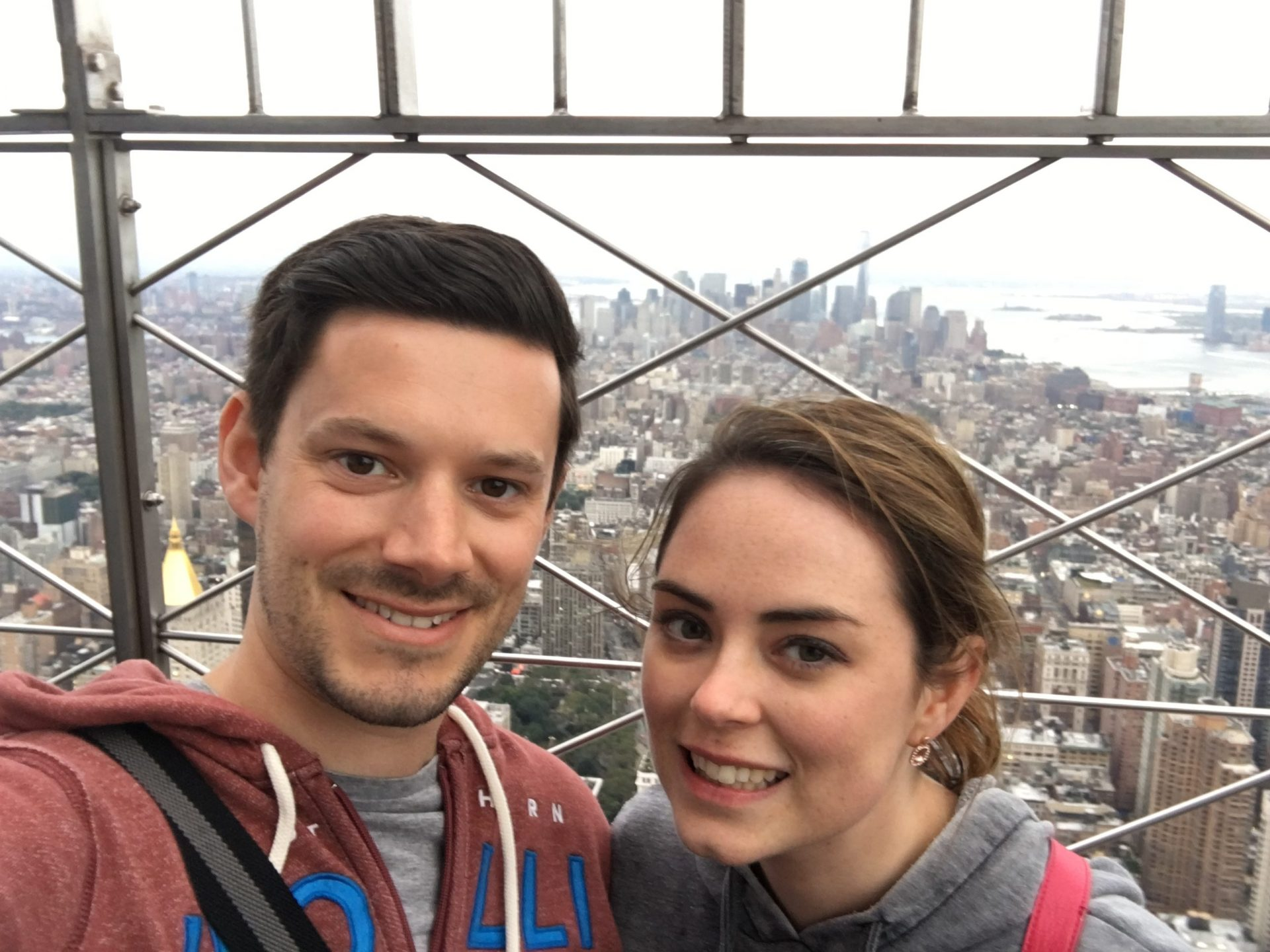 Empire State Building Selfie