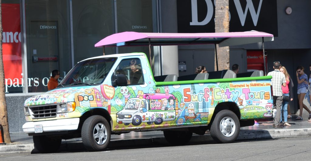 Surf City Tours Bus