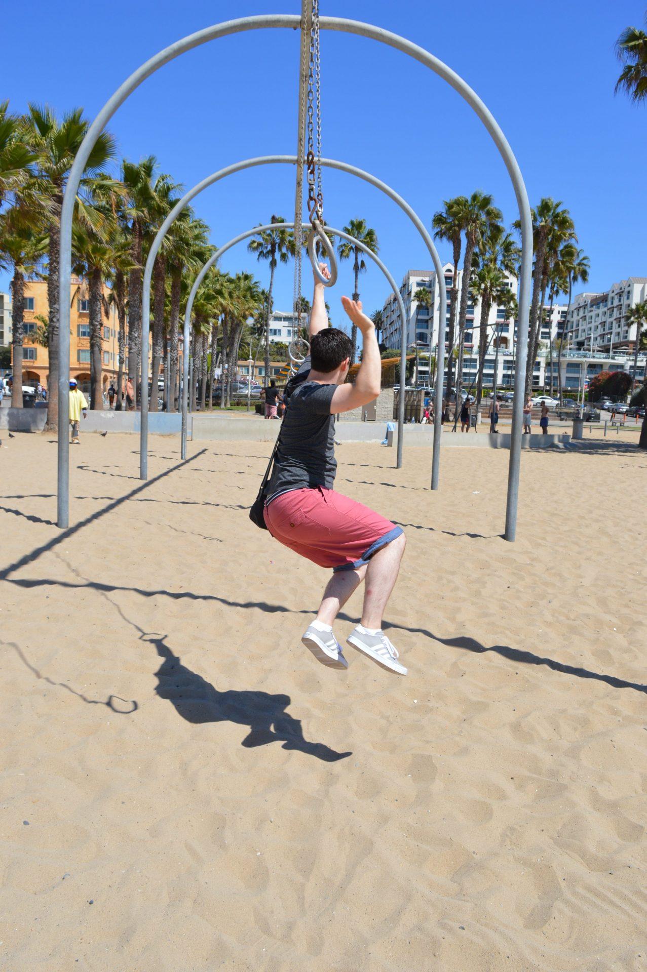 Santa Monica rings
