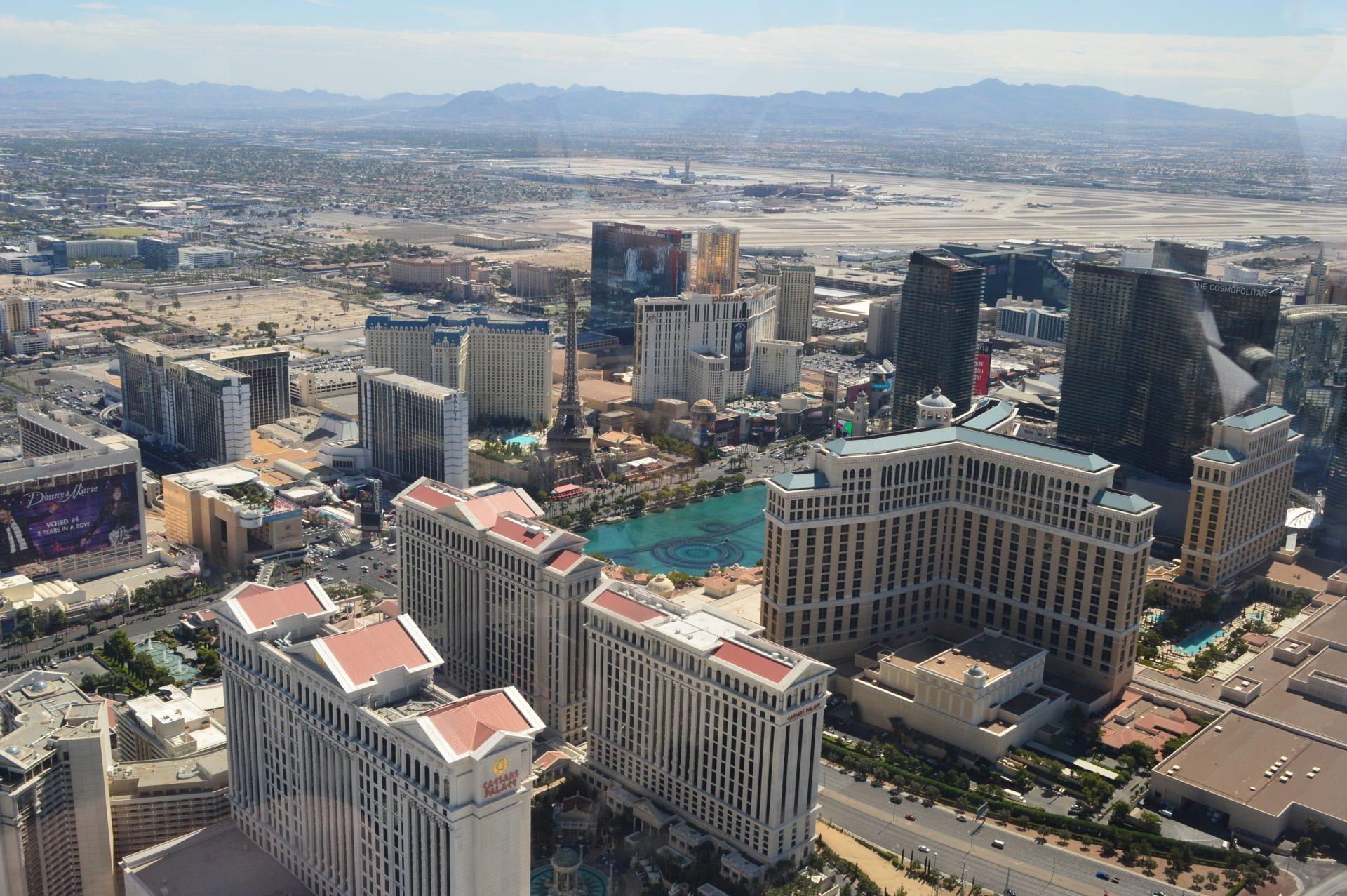 Caesars Palace & The Bellagio Las Vegas
