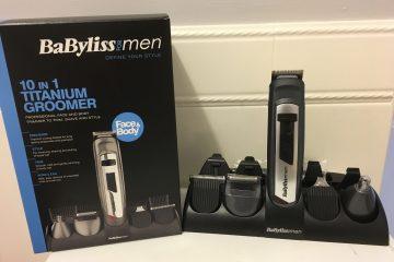 Babyliss for Men 10 in 1 Titanium Groomer