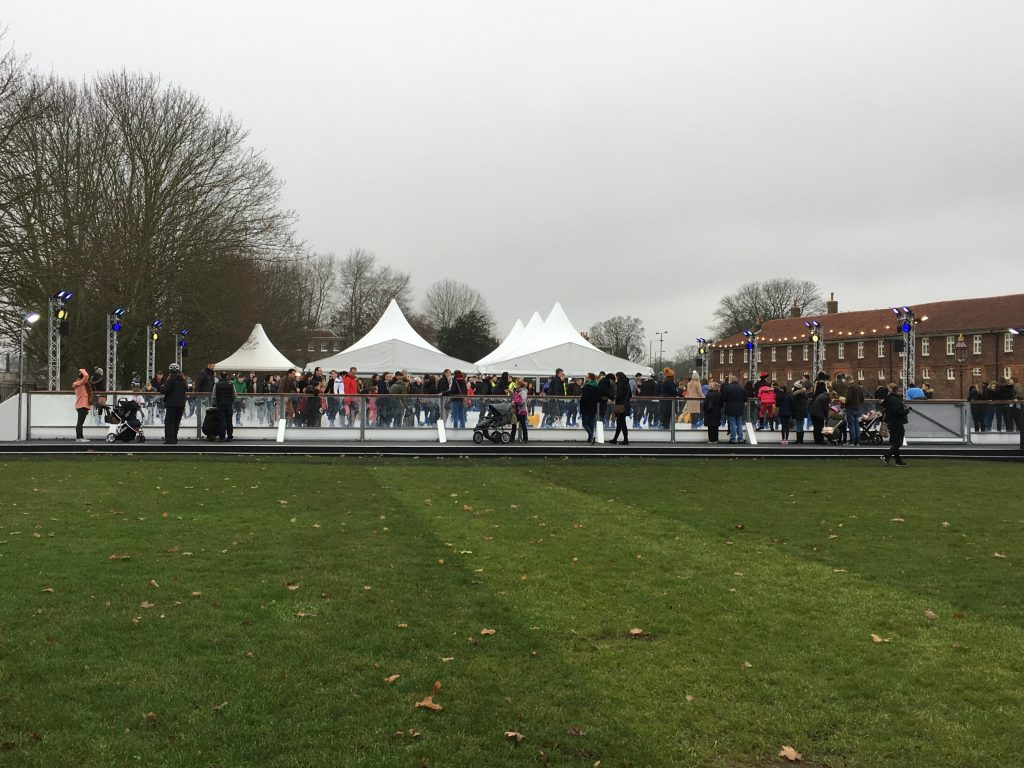 The Hampton Court Palace Ice Rink