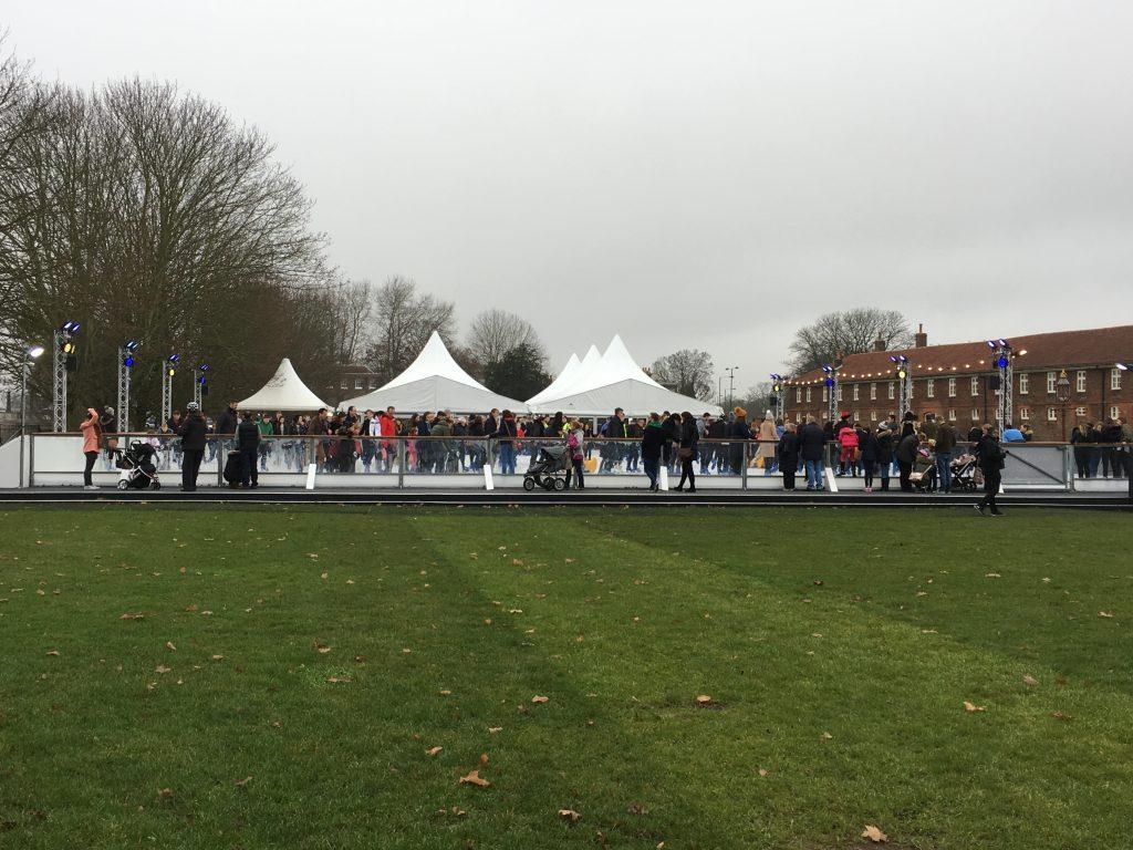The Hampton Court Palace Ice Rink