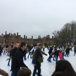 Ice Skating at The Hampton Court Palace Ice Rink