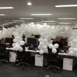 How to Build a Christmas Office Desk Igloo!