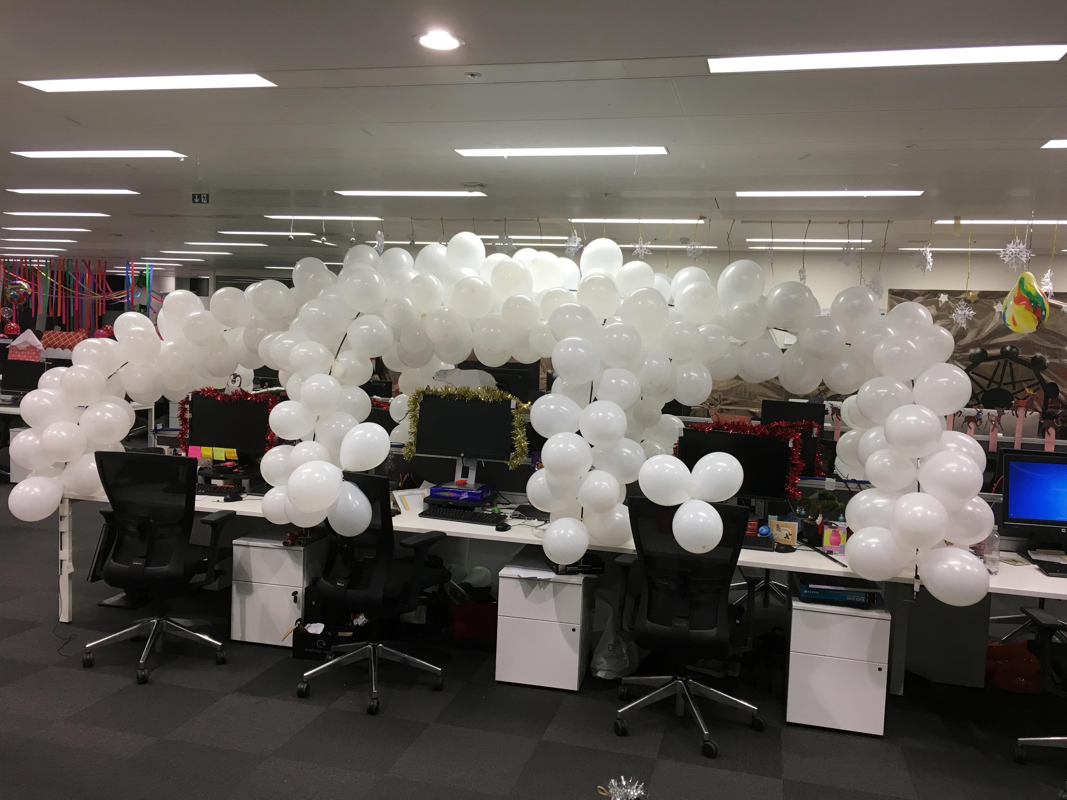 Christmas Office Desk Igloo