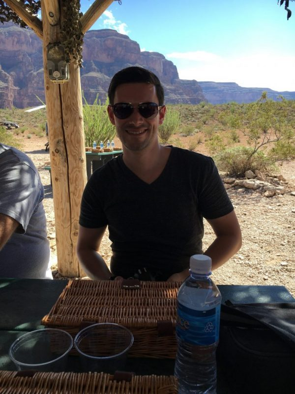 Grand Canyon picnic