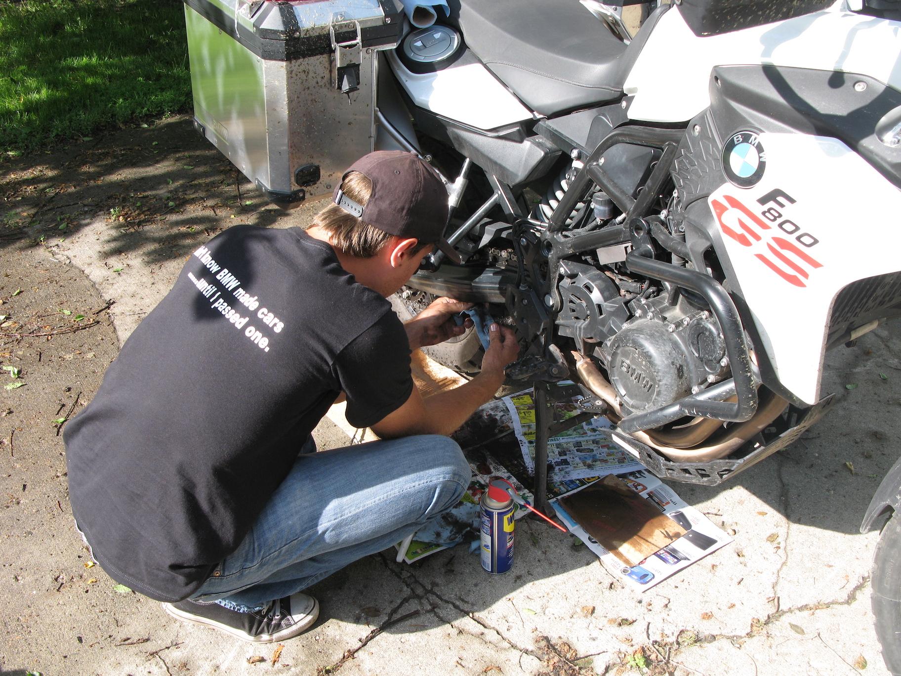Building a bike